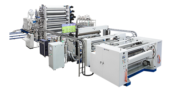 Automatic Cast PE Breathable Film Line.